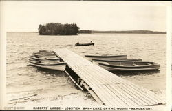 Roberts' Lodge - Lobstick Bay - Lake-of-the-Woods