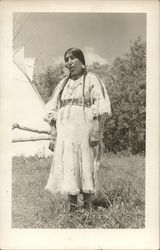 Red Wolf Woman Old Chief