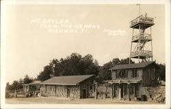 Mt. Gayler Top-O-The Ozarks, Highway 71: Several Buildings and Observation Deck