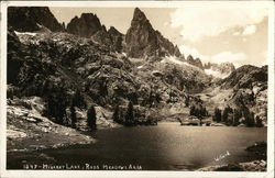 Minaret Lake and Reds Meadows Area