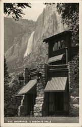 The Ahwahnee and Yosemite Falls