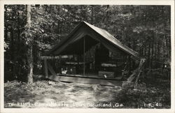 Tent Unit - Camp Juliette Low - Cloudland, Ga.