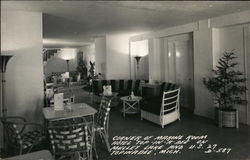 Corner of Marine Room in Hotel Top-In-A-Bee, on Mullet Lake and U.S. 27 Postcard