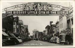 North Virginia Street and Welcome Arch
