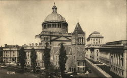 The First Church of Christ, Scientist and the New Publishing House - General View