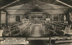 St. Michael's Mission to the Arapahoe Indians - Mission Chapel