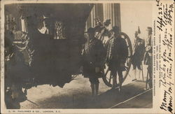 Coronation of King Edward VII and Queen Alexandria August 9,1902