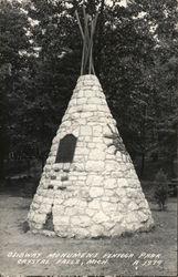 Ojibway Monument, Pentoga Park