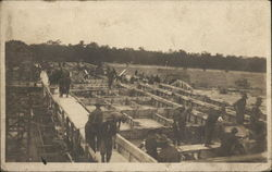 1919 Pershing Stadium Construction Joinville-le-pont