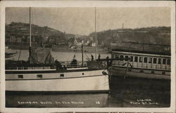 Excursion Boats on the Rhine