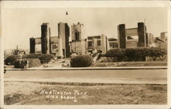 1933 High School after Earthquake