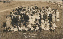 Kratzer Family Reunion August 19, 1911