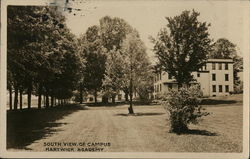 Hartwick Academy, South View Of Campus (Hartwick College?)