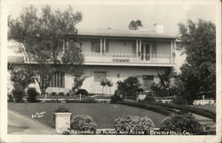 Residence of Burns and Allen Postcard