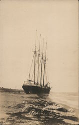 """James Judge,"" Schooner in Water"