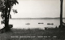 Boating - Birchcliffe Camp