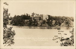 Nashotah House from Nashotah Lake