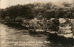 Old Swimming Hole - Inter-state Park