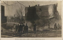 Ruins from Big Fire - February 3, 1911