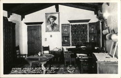 Death Valley Scotty's Room in His Castle - National Monument Postcard