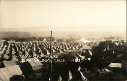 Camp Ord Scene Near Salinas, California