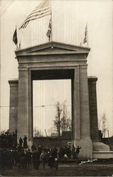 Peace Arch, International Boundary