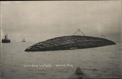 Ocean-Going Log Raft, Astoria, Oregon