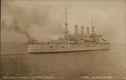 "Battleship ""Vermont"" in Puget Sound"