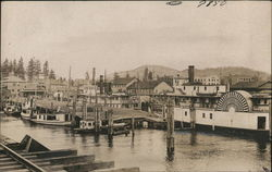 View of Docks & Riverboat