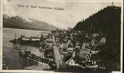 View of West Ketchikan