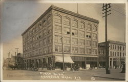 Street View of the Finch Building Postcard