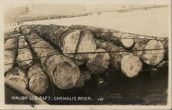 Waugh Log Raft, Chehalis River
