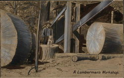 A Lumberman's Workshop