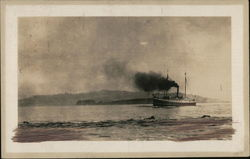 "Steamship ""Eureka"" in Humboldt Bay"