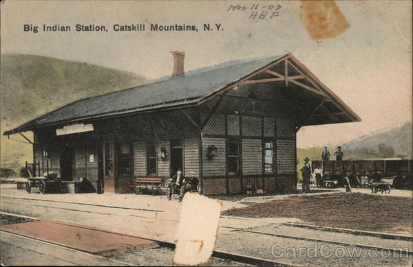 Big Indian Station, Catskill Mountains New York Depots