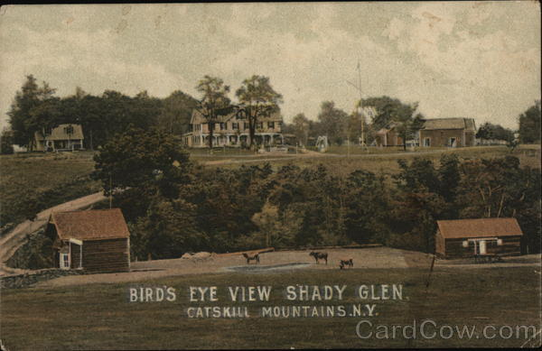 Bird's Eye View Shady Glen Medway New York Catskills