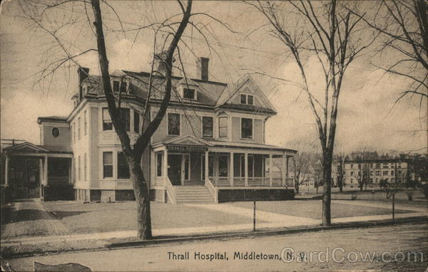 Street View of Thrall Hospital Middletown New York