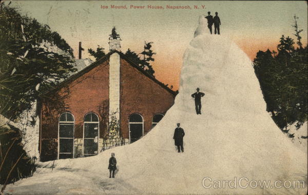 Ice Mound, Power House Napanoch New York