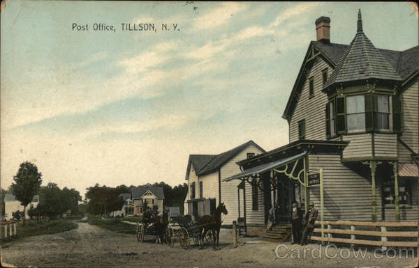 Street View of Post Office Tillson New York