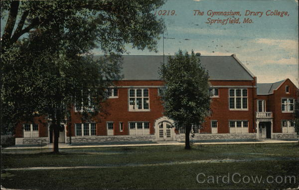 The Gymnasium, Drury College Springfield Missouri