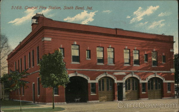 Central Fire Station South Bend Indiana