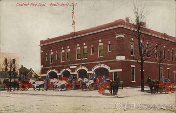 Central Fire Department South Bend Indiana