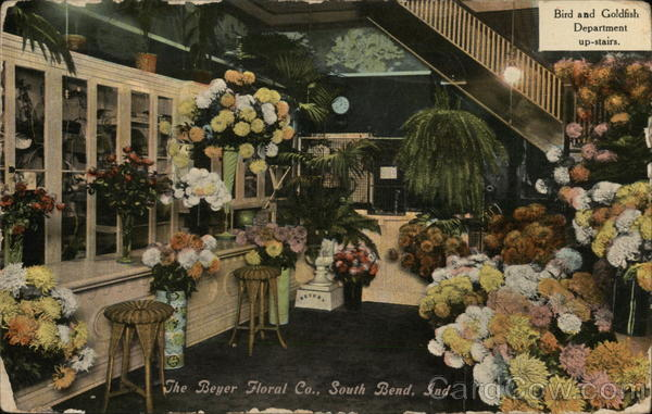 The Beyer Floral Co. South Bend Indiana