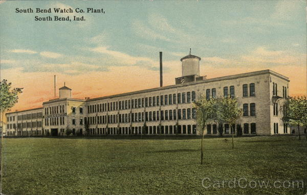 South Bend Watch Co. Plant Indiana