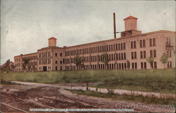 Factory of South Bend Watch Company Indiana