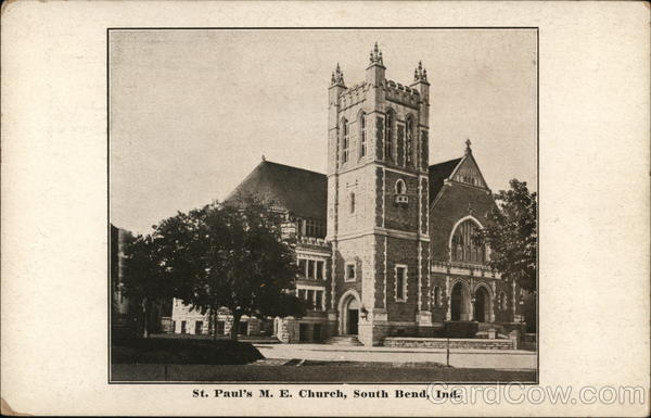 St. Paul's M.E. Church South Bend Indiana