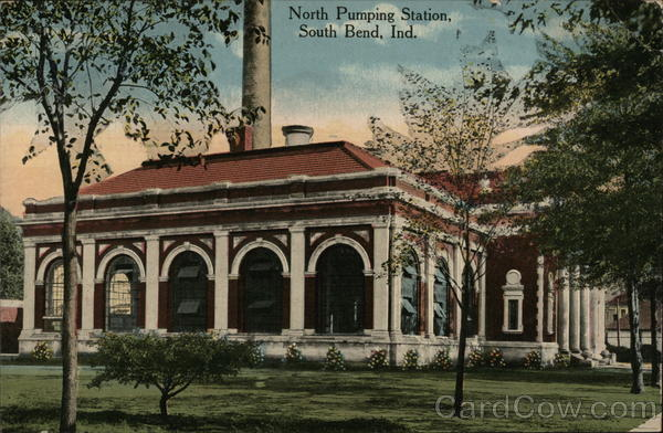 North Pumping Station South Bend Indiana