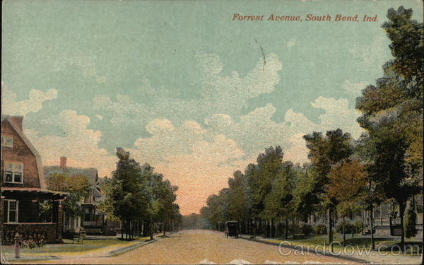 Forrest Avenue South Bend Indiana