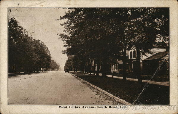 West Colfax Avenue South Bend Indiana