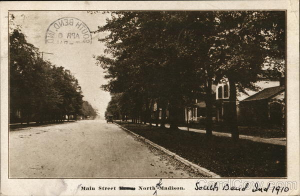 Main Street, North of Madison South Bend Indiana
